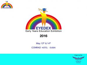 EYEDEX – Early Years Education Exhibitionの画像