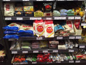 ドバイのスーパーに増えつつある日本食コーナーの画像