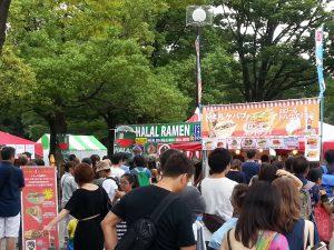 アラビック・フェスティバル2016の食をレポートの画像