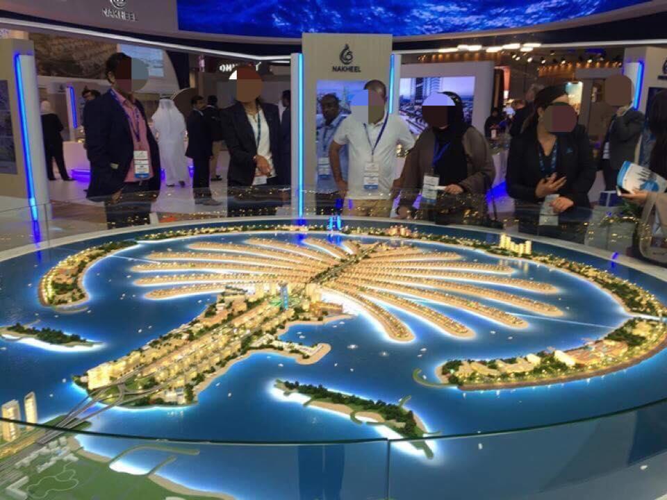 展示会で世界有数の近未来都市・ドバイの「都市景観」展望を知った!