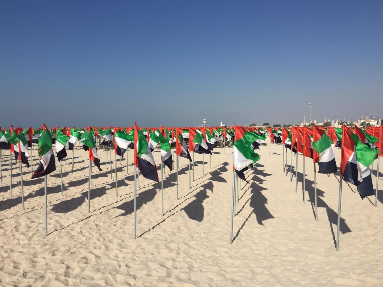 UAEの連邦結成記念日が凄い!