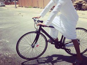 需要はあるのか!?<br>ドバイで自転車の画像