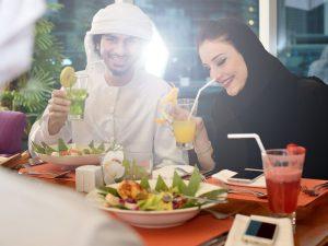 ドバイの最高にロマンティックなレストランを紹介<span class='font_pink'>💛</span>の画像