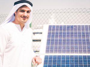 ドバイで開催された中東最大規模の太陽光発電関連展示会の模様を紹介 Part1の画像