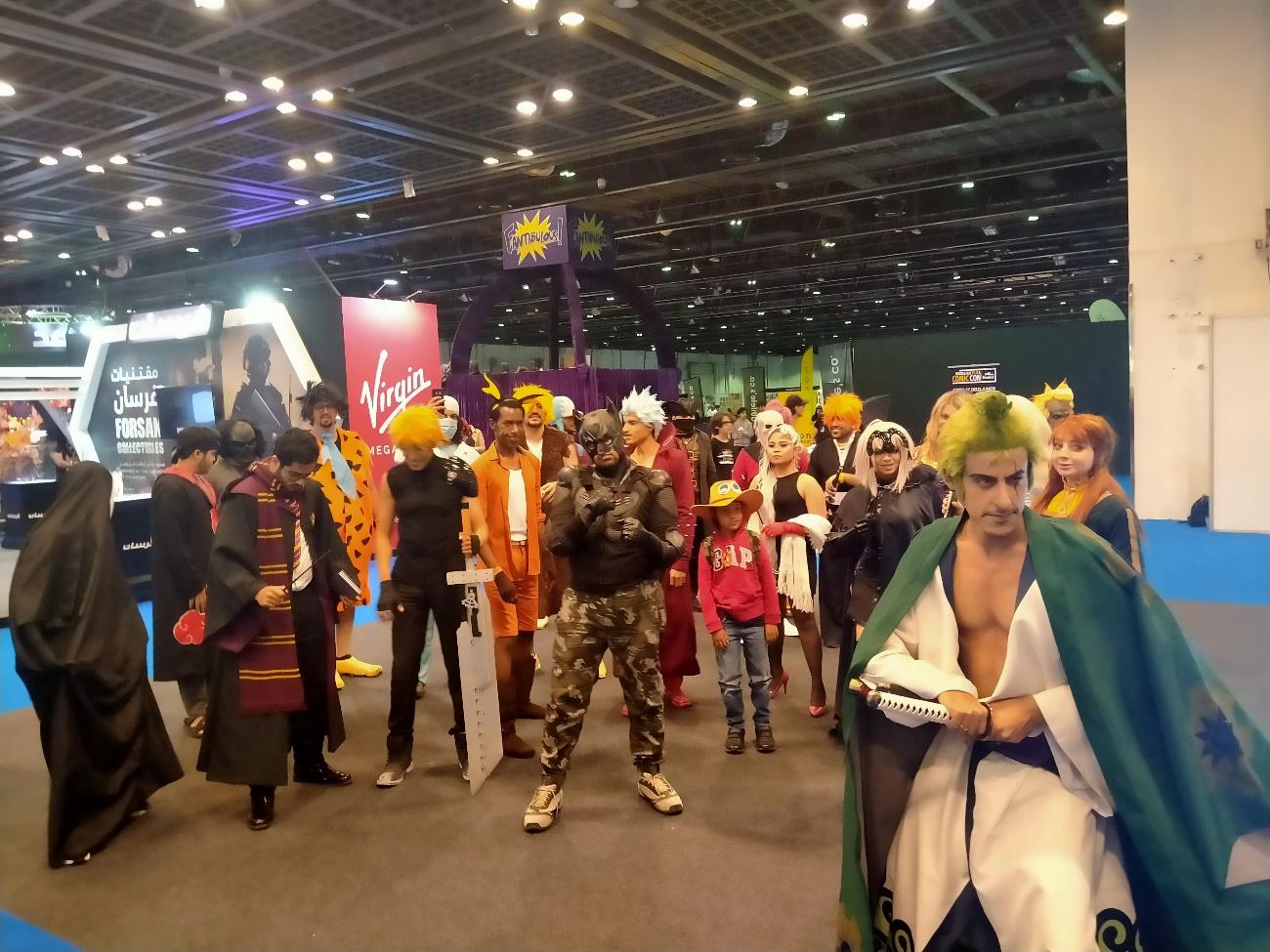 中東版コミコン潜入!日本のアニメが中東で圧倒的?!